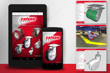 Colson Group USA - Caster CAD 3D App Promotion
