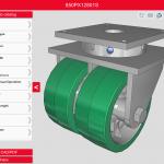 Caster CAD 3D - Explore 3D Models of Popular Colson Group Brands